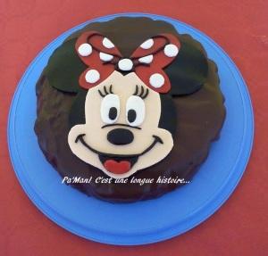 gâteau Minnie 2D