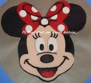 tête Minnie 2D