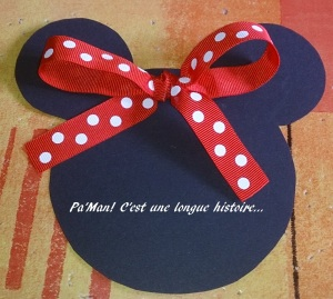 faire part Minnie 1
