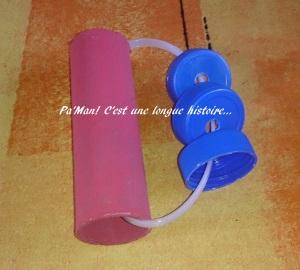 instrument de musique avec de la récup'